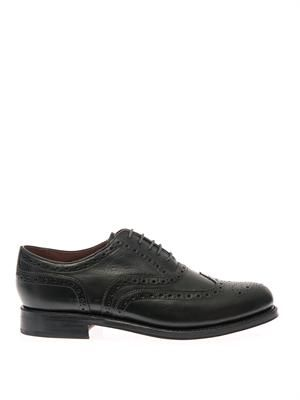 Stanley leather oxford brogues