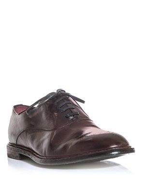 Marsala Oxford shoes