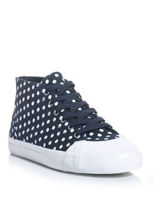 Lithuania polka-dot trainers