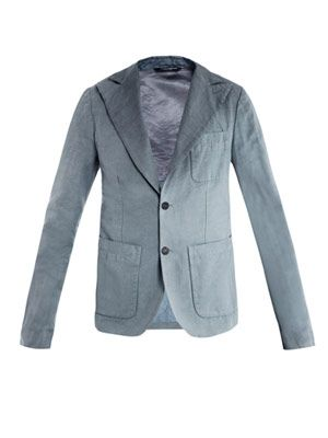Degrade single-breasted jacket