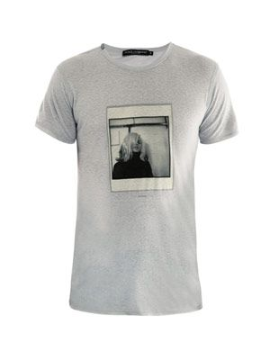 Blondie slub T-shirt