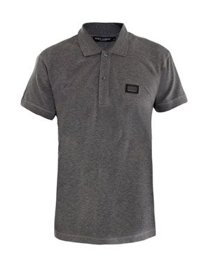 Logo plaque polo top