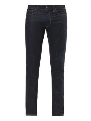Capri-fit slim-leg jeans