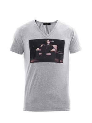 Al Pacino Godfather print T-shirt