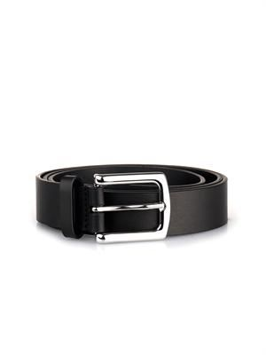 Star-studded leather belt