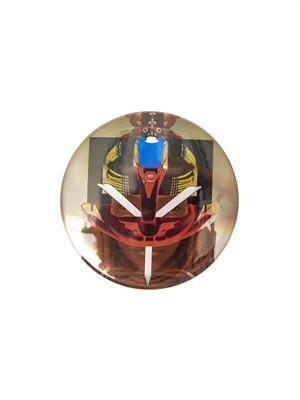 Masai robot-print badge