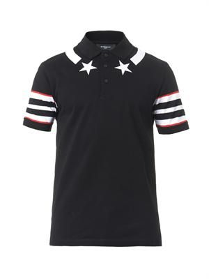 Stars and stripes polo shirt