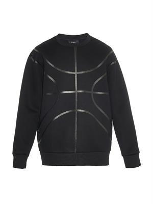 Columbian-fit neoprene sweatshirt