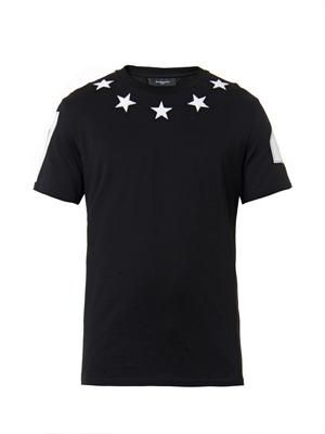 Chenille-star T-shirt