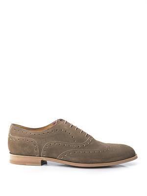 Jacob suede brogues