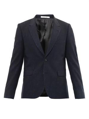 Two button flecked blazer