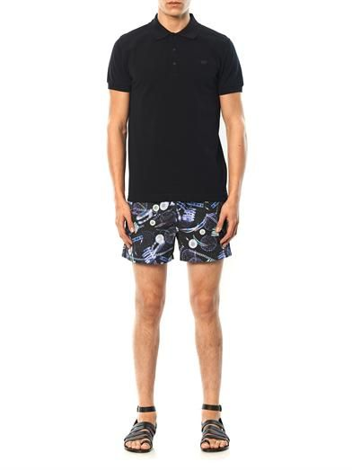 Paul Smith Shoes & Accessories Ocean Drifters-print swim shorts