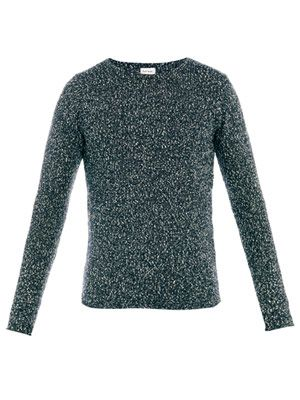 Cotton flecked sweater
