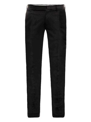 Slim-fit cotton jersey trousers
