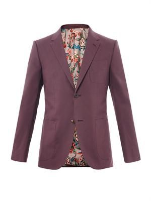 New Signoria two-button blazer