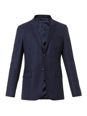 Palma wool-twill blazer
