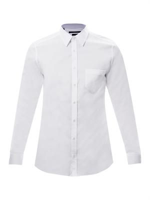 Slim-fit pocket shirt