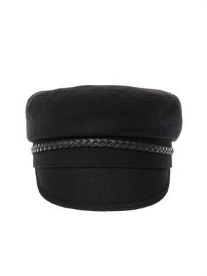 Wool-blend driver's cap