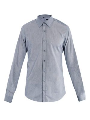 Pencil stripe shirt