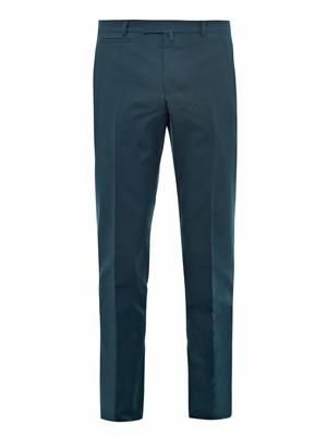 Cotton-twill chinos