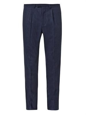 Stretch-flannel 60s sport trousers