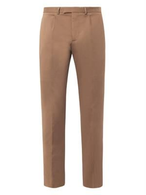 1960s stretch-flannel sport trousers