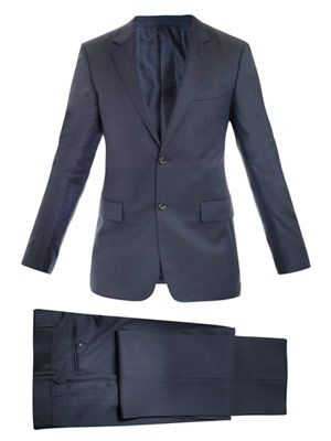 Brera single-breasted suit