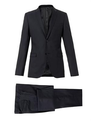 Dylan single-breasted wool suit