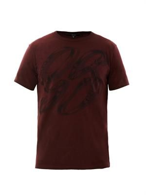 Saddle-print T-shirt
