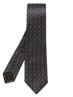 Signature GG jacquard silk tie
