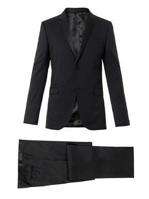 Dylan notch-lapel wool tuxedo