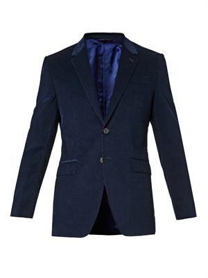Byard two-button corduroy blazer