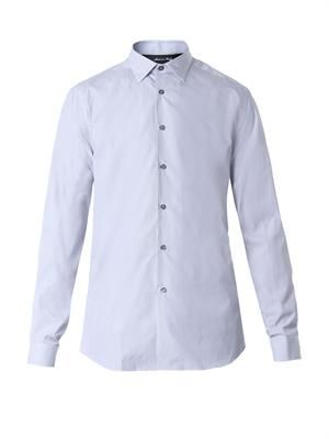 Byard pinstripe cotton shirt