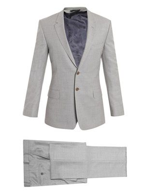 The Floral Portuguese pin-dot suit
