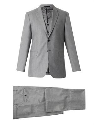 Byard three-piece wool suit