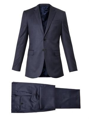 Byard checked wool suit