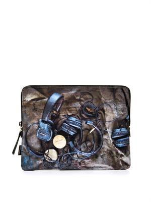 Headphones-print iPad® case