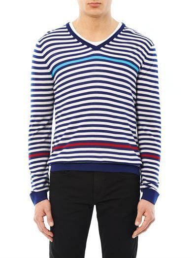 Paul Smith London Striped merino wool sweater