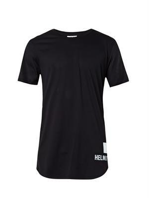 Logo-print mesh T-shirt