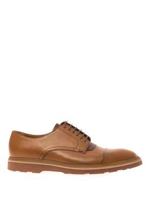 Thom leather derby shoes