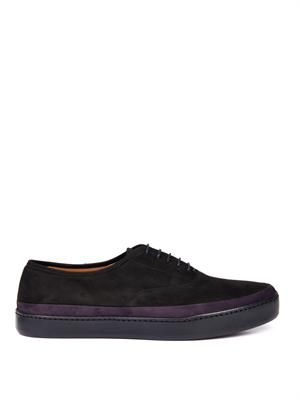 Jim suede skate-style derby shoes