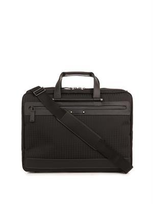 Nylon travel briefcase