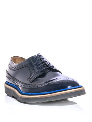 Grand heavy lace-up brogues