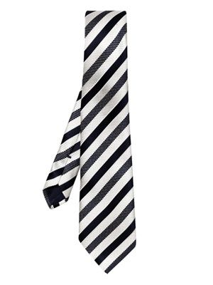University stripe tie