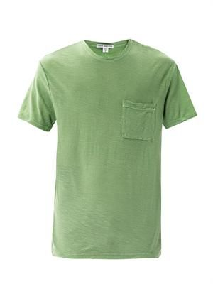 Slub pocket T-shirt