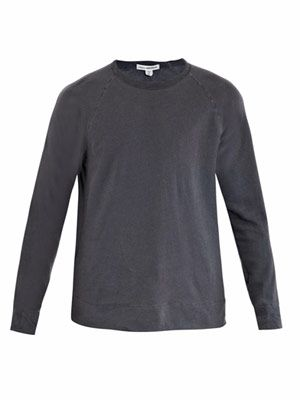 Ringer sweat top