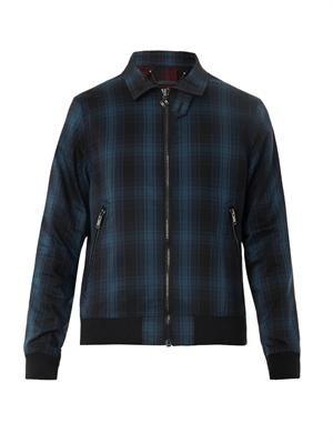 Renton plaid zip jacket