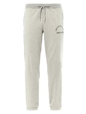 Logo-print cotton sweatpants
