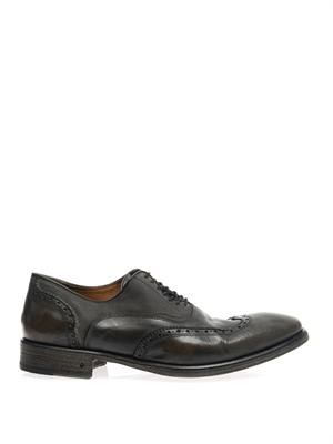 Fleetwood leather oxford shoes