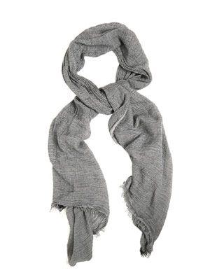 Fine-knit scarf